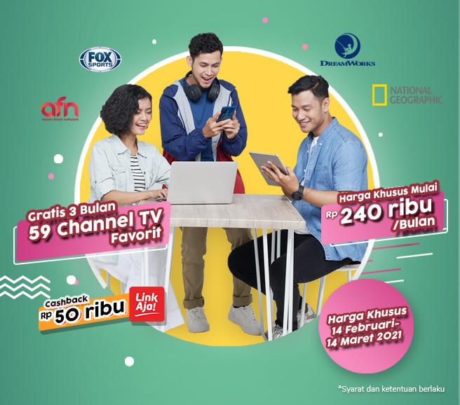 Promo Penawaran Khusus Channel Digital T